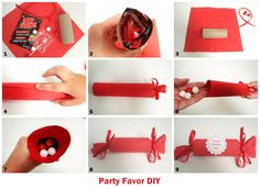 DIY PARTY FAVORS | Yes, those are little girl hands. They had to help, I don't blame ...