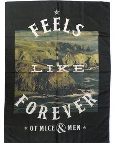 NEW IN STOCK! @omandm OF MICE & MEN Official Merchandise Product TEXTILE FLAG/POSTER - LIGHTHOUSE http://ift.tt/1Vot1PK