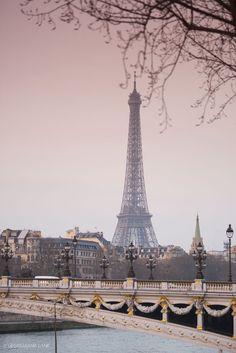 Le Pont Alexandre III, Paris.