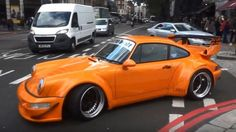 When you look at the pictures of a RWB Porsche 911 you can't help thinking if that thing is even drivable, what with those massive wheel arches and insan. Porsche Carrera, Porsche 911, Automobile, Rauh Welt, Porsche Sports Car, Sport Cars, Bugatti, Cars And Motorcycles, Cool Cars