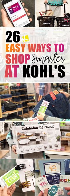 26 Easy Ways to Shop Smarter at Kohl's