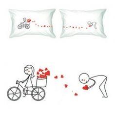 BoldLoft Couple Pillowcases