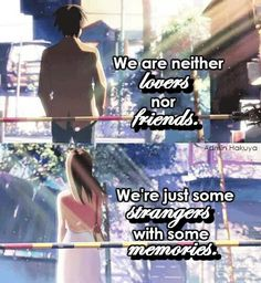 I know this is from 5 centimetres per second but doES ANYONE ELSE SEE HOW MUCH THEY LOOK LIKE EREN AND MIKASA??