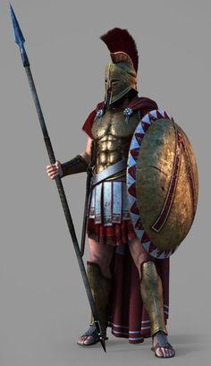 I gelt like adding a nice Spartan Armadura Medieval, Character Art, Character Design, Assassins Creed Art, Greek Mythology Art, Greek Warrior, Spartan Warrior, Warrior Spirit, Armor Concept