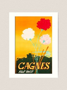 Vintage Travel Poster undefined,travel poster,travel,vacances,poster,travelposter,holiday,vintage,clasic,retro,coloured,wanderlust,cruise,railway,railroad,1920,1930,1940,1950, Retro Color, Vintage Travel Posters, Cruise, Wanderlust, France, Holiday, Photos, Posters, Travel