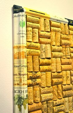 MAY DAYS: Pretty Wine Labels and How to Remove Them