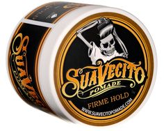 Suavecito Pomade Firme (Strong) Hold Pomade - Water Based Pomade – Suavecito Pomade | Hair Pomade | Barber Products
