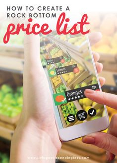 Ready to save big on your next trip to the store? Here's how to create a rock bottom price list so you know a good deal when you see it. #grocerytips #moneysavingtips #savingmoney #moneytips #budgeting #groceryshopping #groceryshoppingtips Cleaning Items, Homemade Cleaning Products, Money Saving Challenge, Money Saving Tips, Grocery Savings Tips, Small Notebook, Extreme Couponing, Save Money On Groceries, Rock Bottom