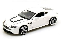 Santas Tools and Toys Workshop: Toy: Aston Martin V12 Vantage 1/24 - White