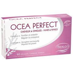 Thalgo Océa Perfect Hair & Nails strengthens brittle, lined, soft, yellow and splitting nails. Improves hair that is dull, damaged or lacking in volume. Spa Branding, Beauty Express, How To Grow Nails, Beauty Sale, Creative Nails, Mani Pedi, Anti Aging Skin Care, Gorgeous Hair, Healthy Skin