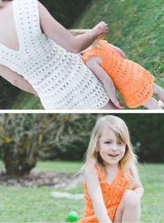 Jennifer und Little Jennifer - gehäkelte Kleider Picnic Blanket, Outdoor Blanket, Austria, How To Make, Collection, Curve Dresses, Picnic Quilt