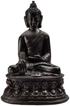 Seated Buddha Statue Figurine 4 3/4 [SB886] - $20.95 : Wicca, Pagan and Occult Practice Mega Store - www.thetarotoracle.com