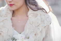 Glamourous Winter Wedding Featured On Midwest Bride Photos By Love Tree Studios