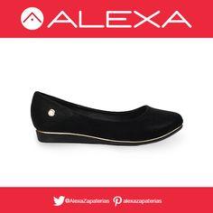 Flats negros para un look casual