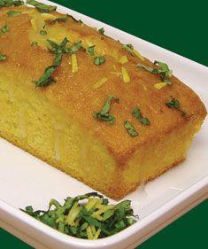 Lemon Basil Tea Bread - Recipes - Cooksgarden.com