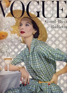 1950s magazine covers | an eye for vintage: Vintage Vogue UK & Bazar 1950's Magazine Covers
