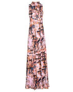 PatBO Neoprene Maxi Dress