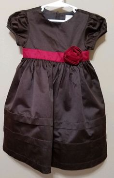 cc7c51207 Girls toddler Gymboree brown red full Thanksgiving fall holiday dress 3T  EUC #fashion #clothing