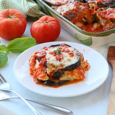 Eggplant Parmigiana. So Italian and so summery! Parmigiana is like lasagna...every Italian family has its own recipe. 😆 Today I'm sharing my Parmigiana recipe. Not too much tomato sauce, grilled eggplants and tons of fresh flavors. You can find the video recipe in my highlights.  Is Parmigiana toddler friendly? Yess!! It's creamy, tasty, the tomato sauce is fresh with a lovely delicate sweet background flavor. Few toddler tips: - Tomato skin. I leave the tomato skin when preparing the… Grilled Eggplant, Eggplants, Recipe Today, Tomato Sauce, Family Meals, Food Videos, Grilling, Highlights, Delicate