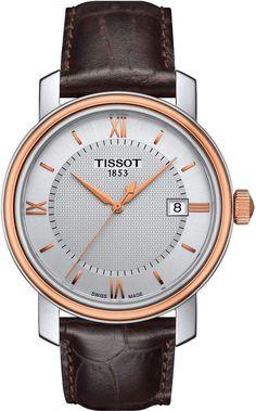 769d71b9835 Tissot Bridgeport Leather Strap Watch