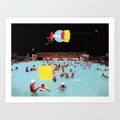 Buy Pool Party by A B O V E B E L O W as a high quality Art Print. Worldwide shipping available at Society6.com. Just one of millions of products…