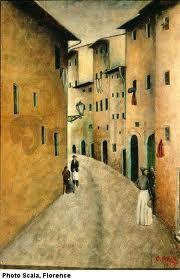 ottone rosai - Muro rosso (1945)