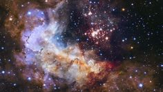 Hubble picture from space