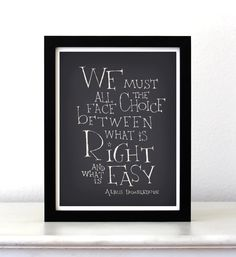 Harry+Potter+movie+quote+poster+We+must+all+face+by+SimpleSerene,+$15.00