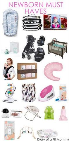 Diary of a Fit Mommy | Newborn Must Haves {The Second Time Around}