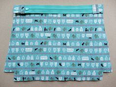 Pattern: Flat bottom straight(ish) sides zippy pouch (with a little zipper trick) | Very Berry Handmade