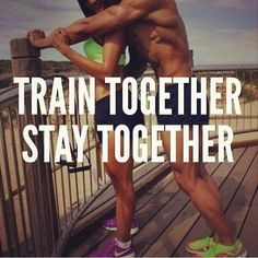 Fitness Motivational Quotes Train Together, Stay Together