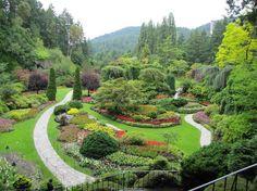 689e764b989 Sunken Garden - Picture of The Butchart Gardens