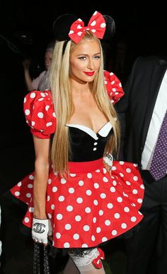 Pin for Later: When It Comes to Halloween Costumes, Paris Hilton Has a Sexy Formula Sexy Minnie Mouse, 2014
