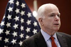 Le sénateur républicain John McCain prend Trump à partie   Maison-Blanche 2016