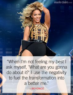 Quotes and inspiration from Celebrity QUOTATION – Image : As the quote says – Description Best Beyonce Quotes – Inspiring Celebrity Quotes – Marie Claire Sharing is everything – We, at Quotes Daily, we think that sharing is everything, so don't forget. Quotes To Live By, Me Quotes, Motivational Quotes, Inspirational Quotes, Diva Quotes, Marie Claire, Affirmations, Beyonce Quotes, Beyonce Lyrics