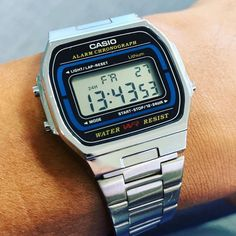 Another Casio classic, Retro baby! Casio Classic, Retro Watches, Retro Baby, Old Computers, Casio Watch, Chronograph, Child, Memories, Accessories