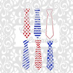 Patterned Neck Tie design for use with Silhouette or other craft cutters (.svg/.dxf/.eps)