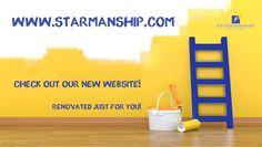 Give us your feedback! www.starmanship.com #Launch #New #Website #Renovation #Training #Workshops