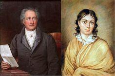 C'est en 1806 que Bettina Von Arnim (4 avril 1785 – 20 janvier 1859) et Catharina Elisabeth, la mère de Goethe ( 28 août 1749 – 22 mars 1832 ), s'unirent d'amitié. Bettina portait une admirations sans pareille au poète, de 36 ans son aîné, et lui écrivait des lettres auxquelles Goethe ne répondait pas, les jugeant un peu trop enthousiastes. Un an plus tard cependant, elle eut pour la première fois la possibilité de lui rendre visite à Weimar. Ce fut le début de leur correspondance qui…