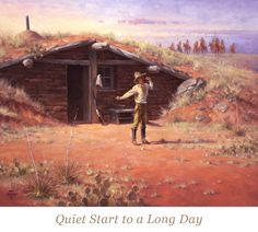 Barn Art, West Art, Cowboy Art, Cowboys And Indians, Old West, Countryside, Westerns, Folk, Old Things