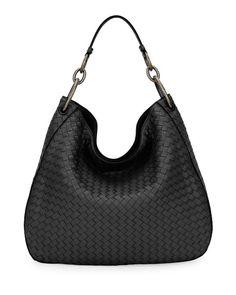 d1e7b38da7a3 BOTTEGA VENETA Intrecciato Leather Shoulder Bag