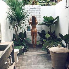 Natural Tanning Oil, Lotion & Skincare Range – Bali Body US Outdoor Baths, Outdoor Bathrooms, Outdoor Rooms, Outdoor Living, Outdoor Decor, Casa Magnolia, Vertikal Garden, Garden Shower, Open Air