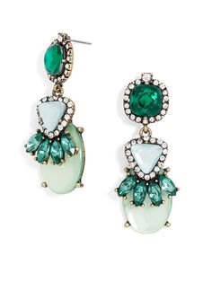 Beautiful boa drop statement earrings - on sale for $15!
