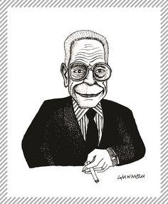 Achille Castiglioni, 1918 - 2002, architetto e designer. Fondò assieme a Vico Magistretti l'Associazione per il Disegno Industriale. Suoi il palazzo della Permanente e la sede della Camera di Commercio di Milano. Vincitore di 9 Compassi d'Oro, è considerato uno dei padri del design moderno. #AlbumMilano #aADIassodesign