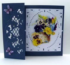 Bloemenkaart, zie www.gerrykaarten.nl