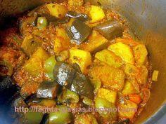 Λαχανικά τουρλού - από «Τα φαγητά της γιαγιάς» Stew, Pork, Veggies, Ethnic Recipes, Kale Stir Fry, Vegetable Recipes, Vegetables, Pork Chops