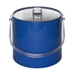 Mr. Ice Bucket 705-1 Regency 3-Quart Ice Bucket, Specter Blue