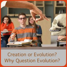 "Why Question Evolution? Creation or Evolution? Part 2.   Three fundamental facts show why you should.   JW.org has the answers to your questions, by means of the bible and bible study aids.   Go to JW.org > BIBLE TEACHINGS > TEENAGERS > SCHOOL >   ""Creation or Evolution?—Part 2: Why Question Evolution?"""
