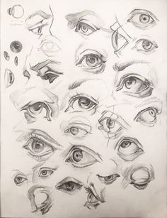 Eyes studies by anavitil face drawing в 2019 г. Eye Anatomy, Anatomy Art, Anatomy Drawing, Anatomy For Artists, Pencil Art Drawings, Art Drawings Sketches, Realistic Drawings, Eye Drawings, Sketches Of Eyes