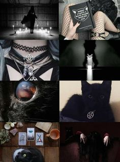 Cat witch aesthetic